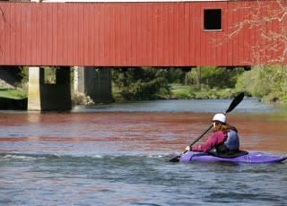 Kayaking in Lehigh Valley