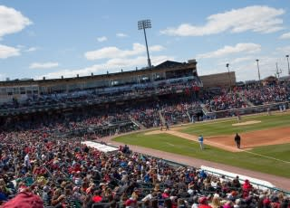 Coca-Cola Park home of the Lehigh Valley IronPigs