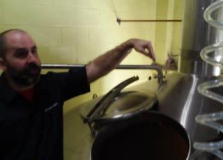 Brewmaster Chris Wilson