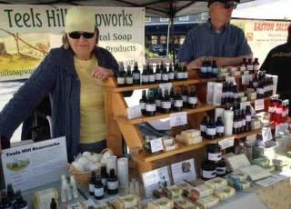 Susan Knapp of Teels Hill Soapworks