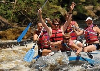 Hit the rapids...