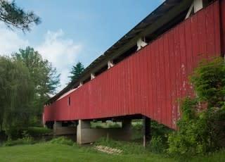 Bogerts Bridge at Lehigh Parkway May 21, 2013-1-IMG_3541