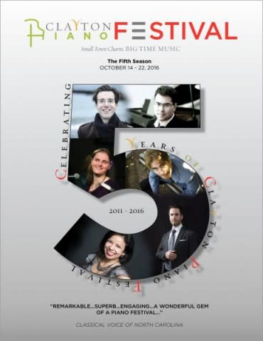 Clayton Piano Festival Year Five Poster