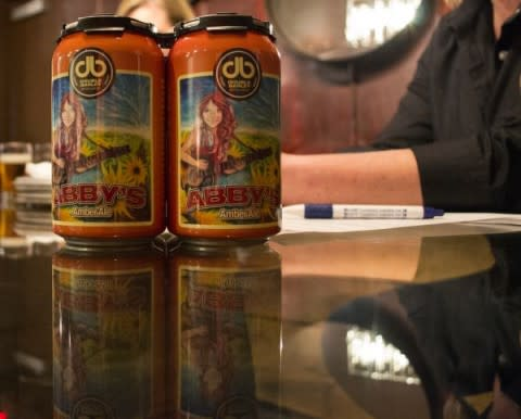 Abby's Amber Cans from Double Barley