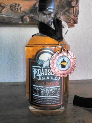 Broadslab Legacy Reserve Shine Bronze Medal