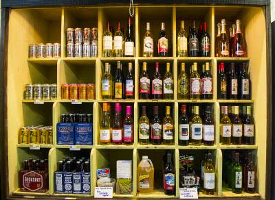 Stanfield's General Store Shelves