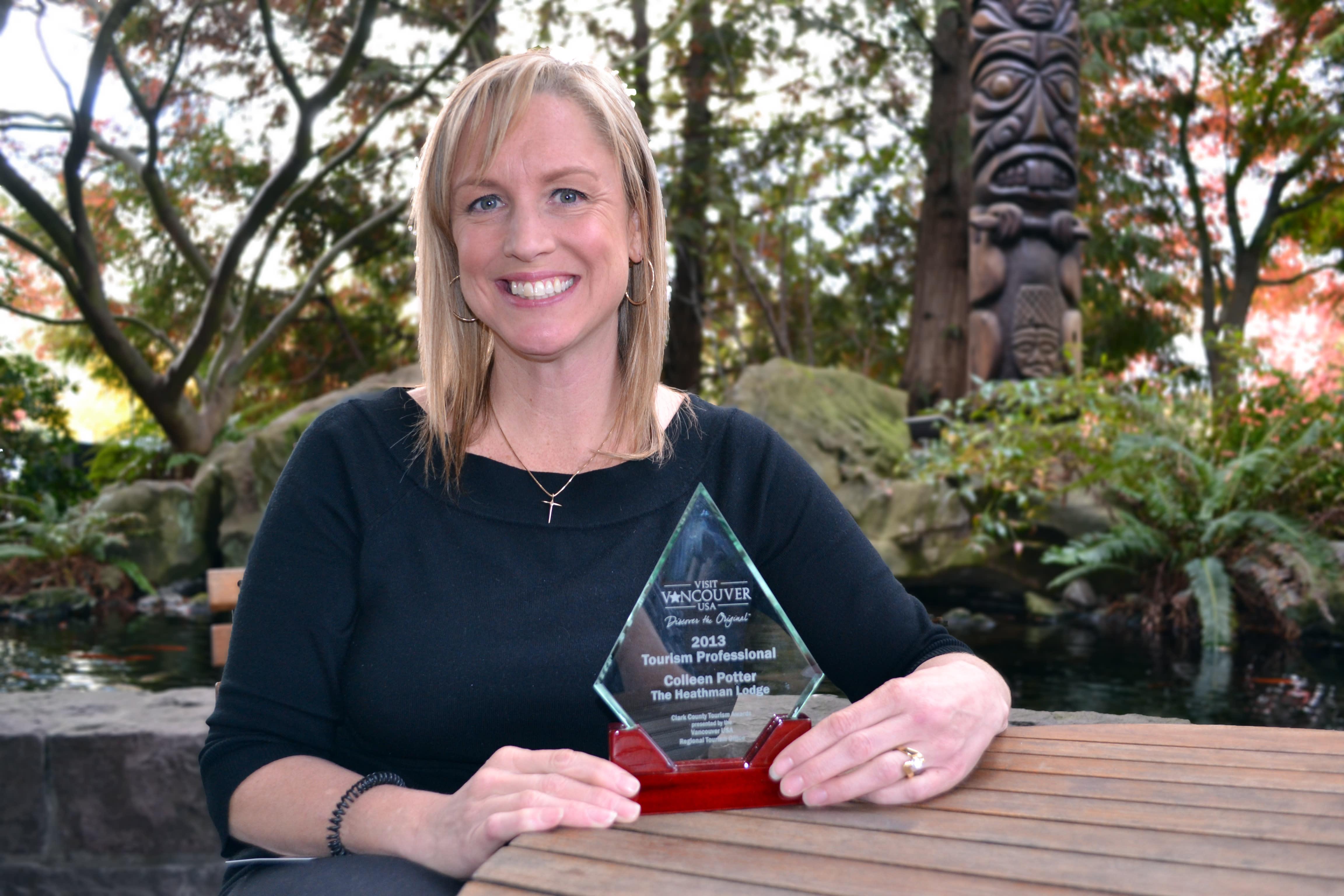 TA Winner Colleen