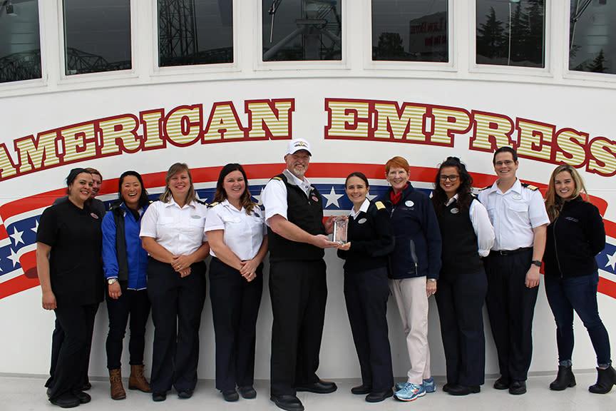 American Empress crew