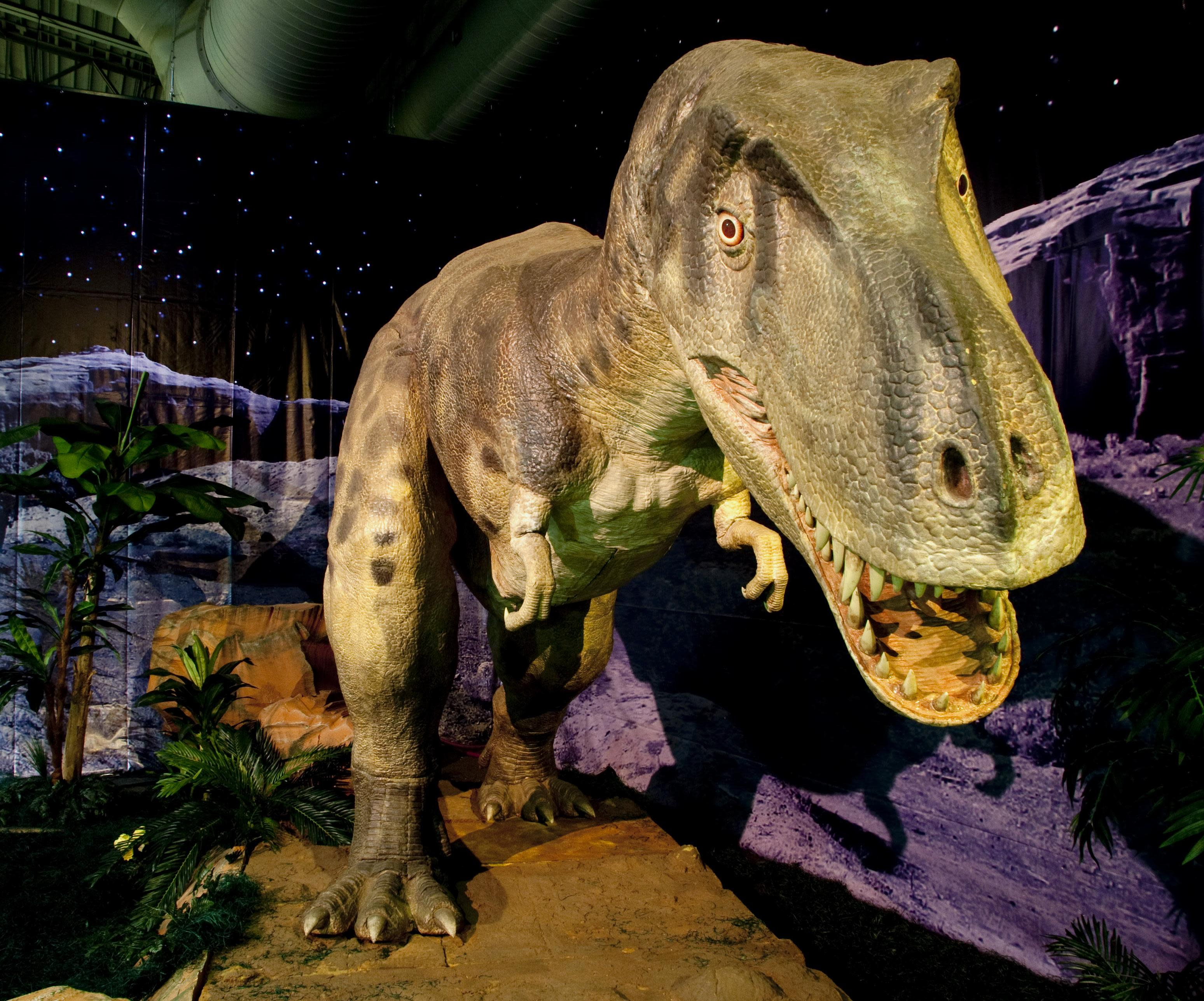 15 robotic creatures bring prehistoric eras to life at South Carolina State Museum's new exhibit Dinosaurs: A Bite Out of Time