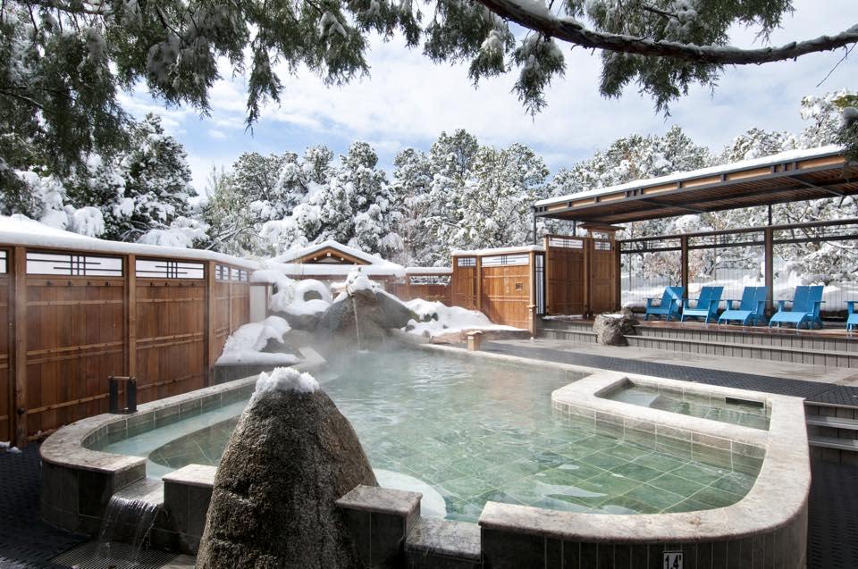 Ten Thousand Waves Japanese Spa & Resort near Santa Fe and Albuquerque