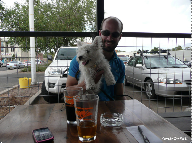 Pet-Friendly Restaurants, Tractor Brewing Co., Albuquerque New Mexico
