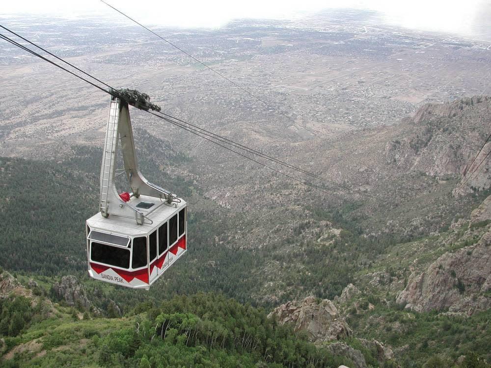 Sandia Peak Aerial Tramway in Albuquerque, New Mexico