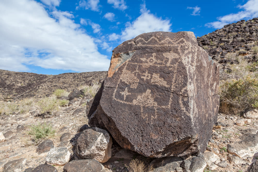 Explore 20,000 carvings at Petroglyph National Monument in Albuquerque