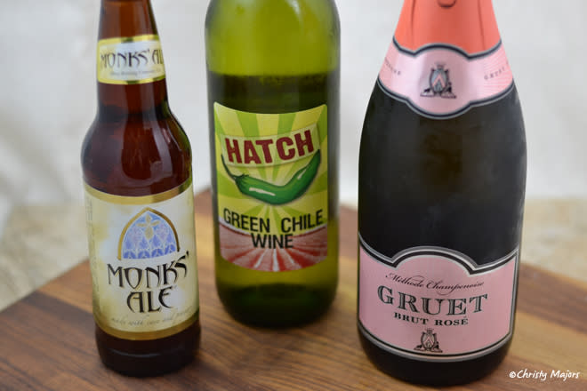 New Mexican chile wine and beer