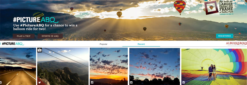#PictureABQ photo contest to win a hot air balloon ride during Balloon Fiesta in Albuquerque