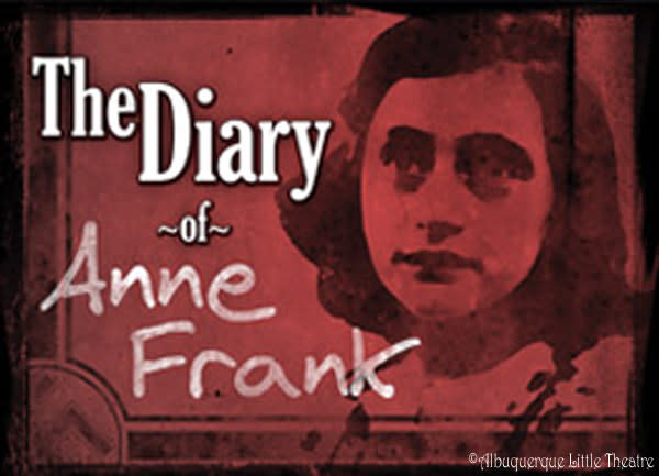 Albuquerque Little Theatre presents the diary of Anne Frank