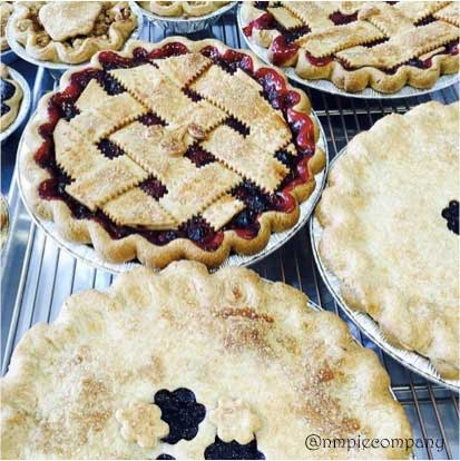 Seasonal pies at New Mexico Pie Comany