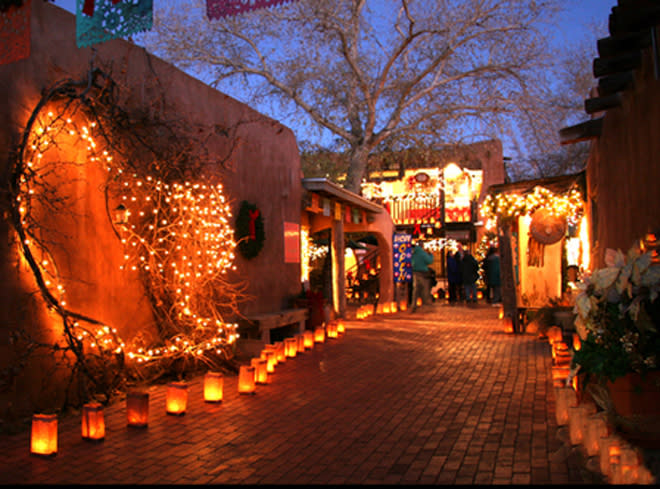 luminaria tour holiday albuquerque