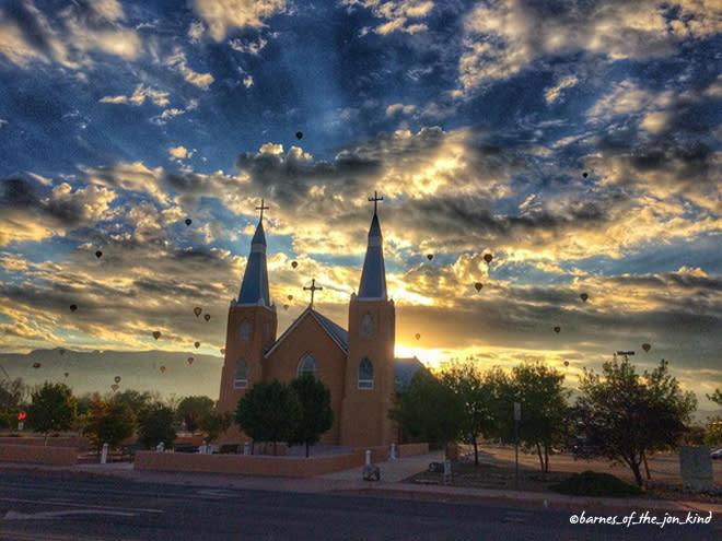 #PictureABQ photo contest, taken by Instagram user @barnes_of_the_jon_kind