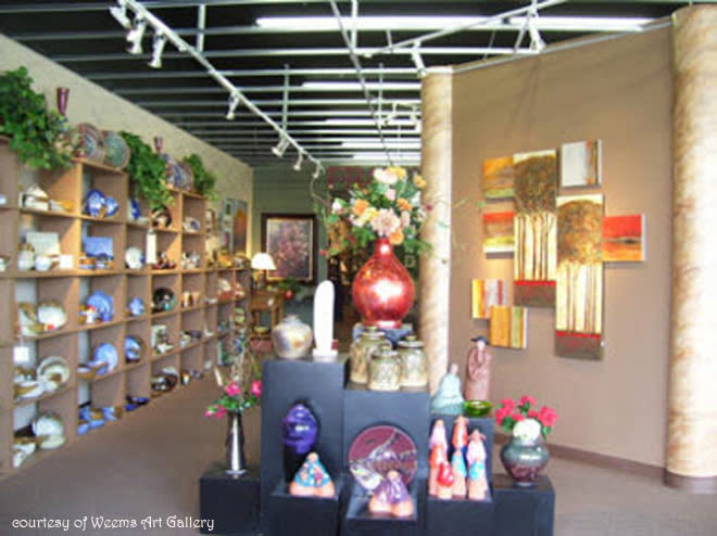 albuquerque holiday gifts weems art gallery
