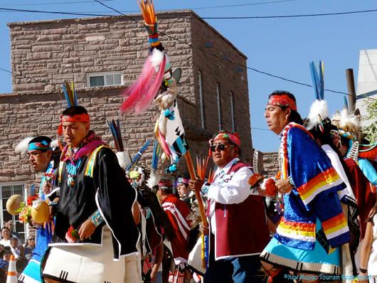 Pueblo Feast Days over the holidays near Albuquerque