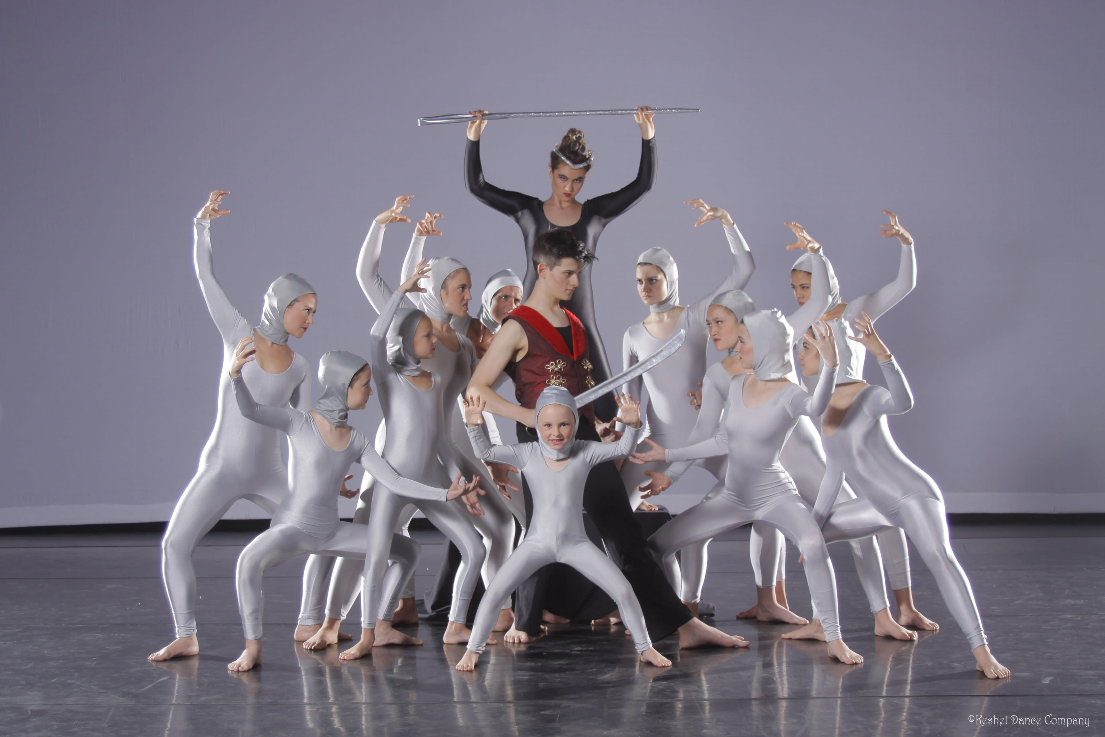 The Nutcracker on the Rocks with Keshet Dance Company in Albuquerque, New Mexico