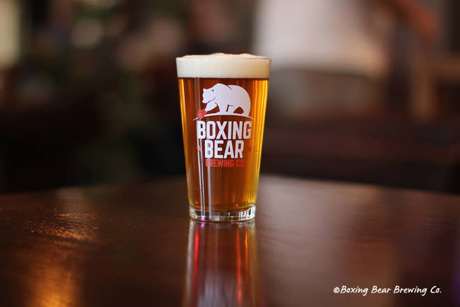 Boxing Bear Brewery in Albuquerque, New Mexico