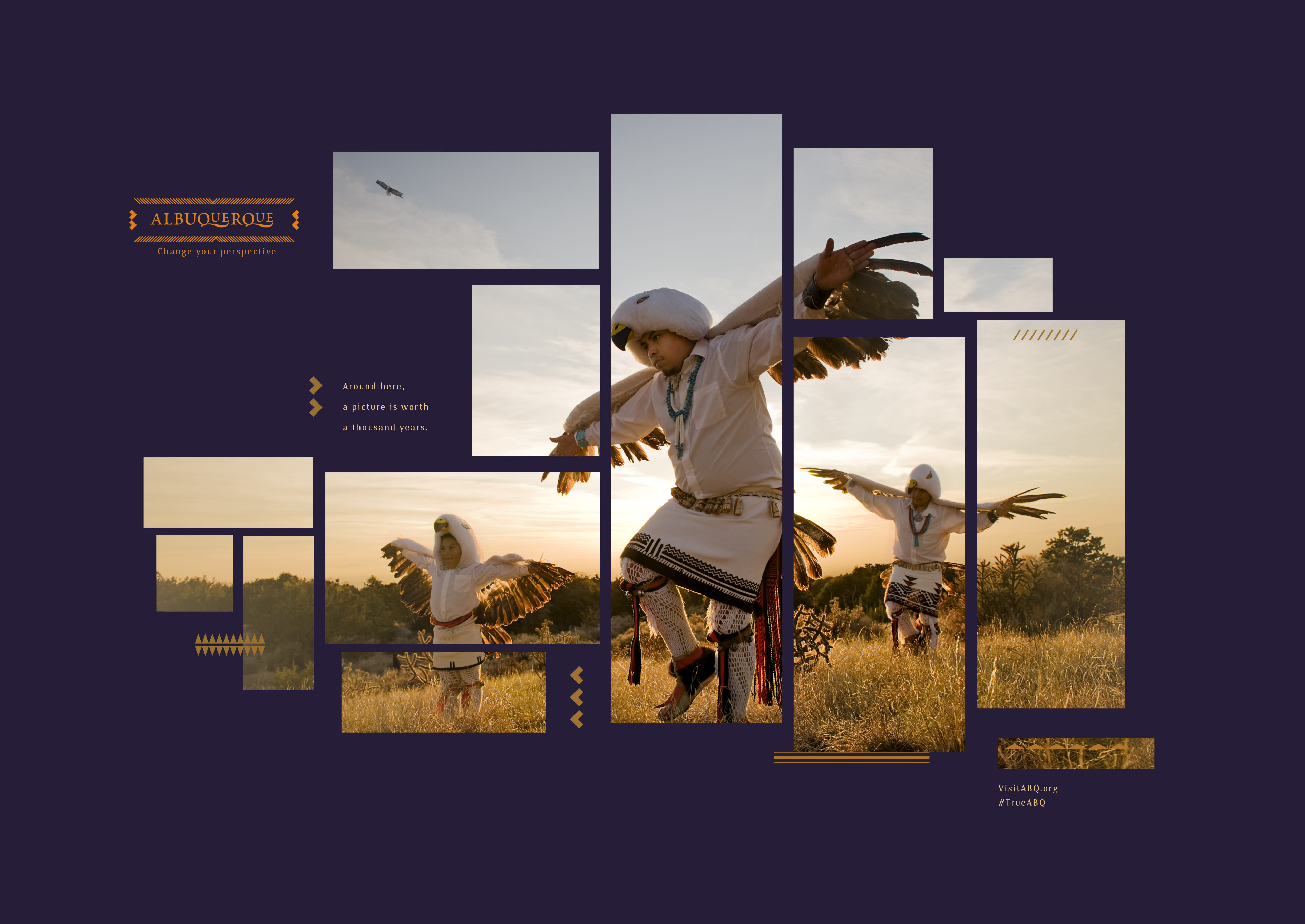 Native American dancers from Albuquerque brand refresh