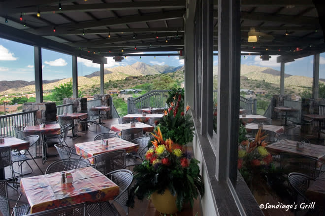 Sandiago's Mexican Grill at the base of the Sandia Peak Aerial Tramway in Albuquerque