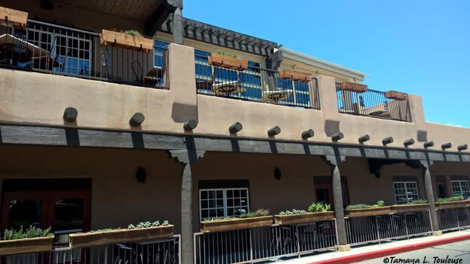 Season's Rotisserie Grill patio in Albuquerque