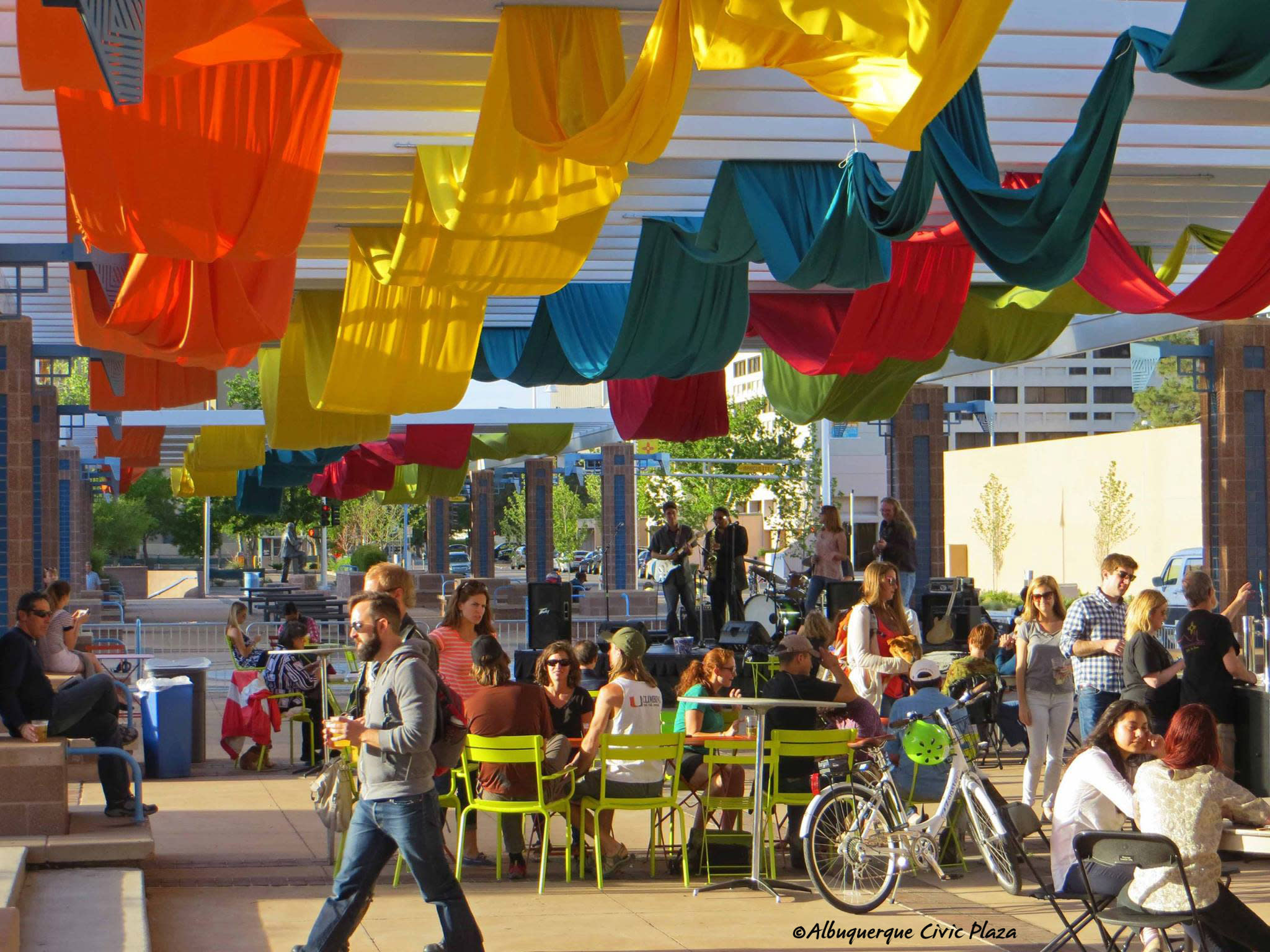 Civic Plaza events in Downtown Albuquerque