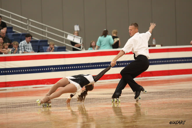 USARS Couples Skating in Albuquerque