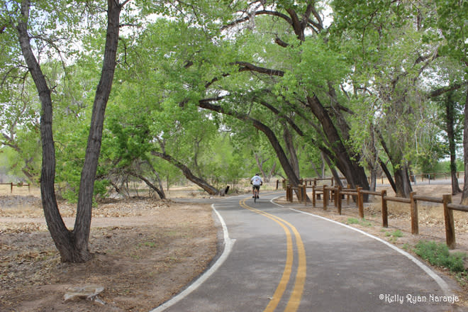 Bosque biking and walking trails