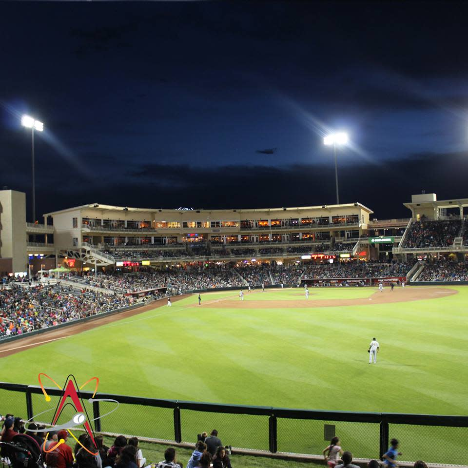 Isotopes Baseball Park in Albuquerque