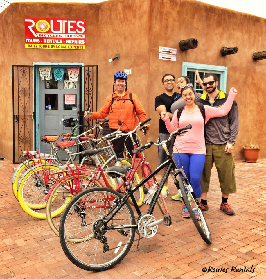 Routes Rentals in Old Town Albuquerque