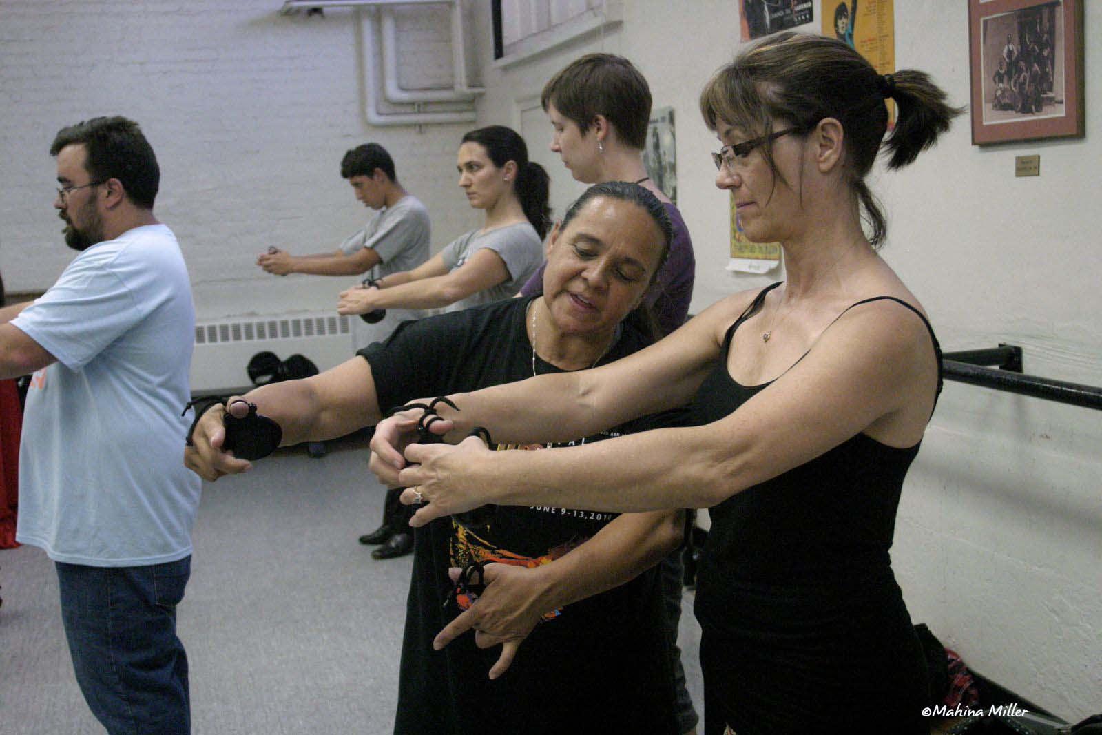 National Institute of Flamenco, Eva Encinias Sandoval teaching at the Festival Flamenco Internacional in Albuquerque, NM