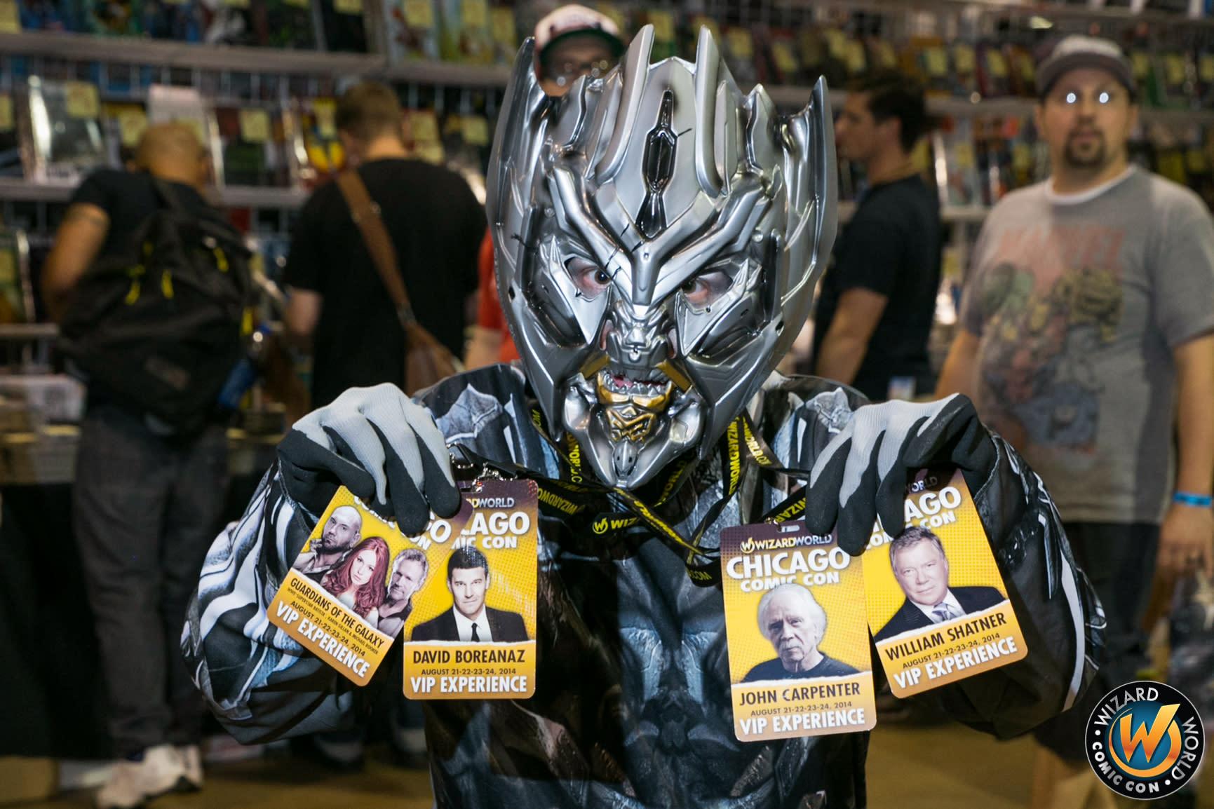 Wizard World Comic Con passes
