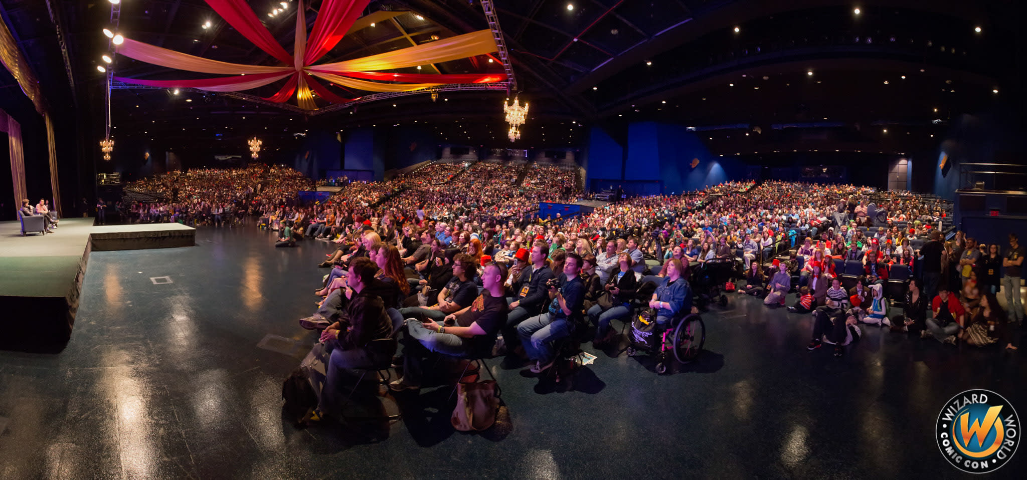 Wizard World Comic Con stage