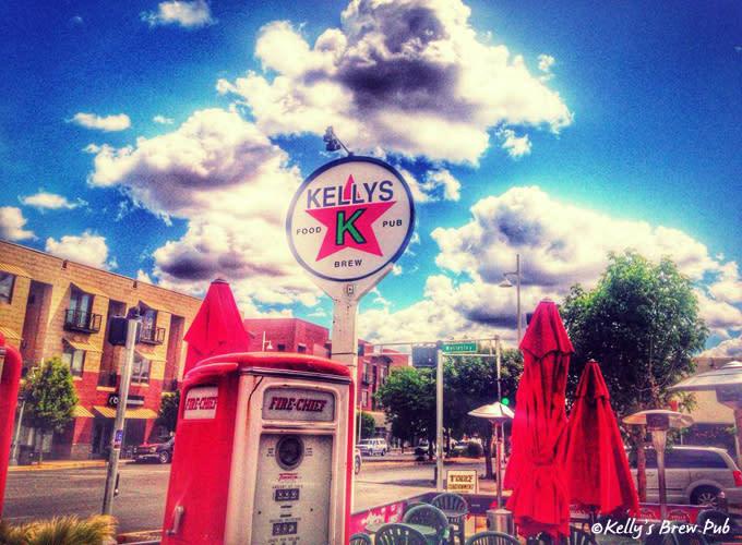 Kelly's Brew Pub in Albuquerque along Route 66