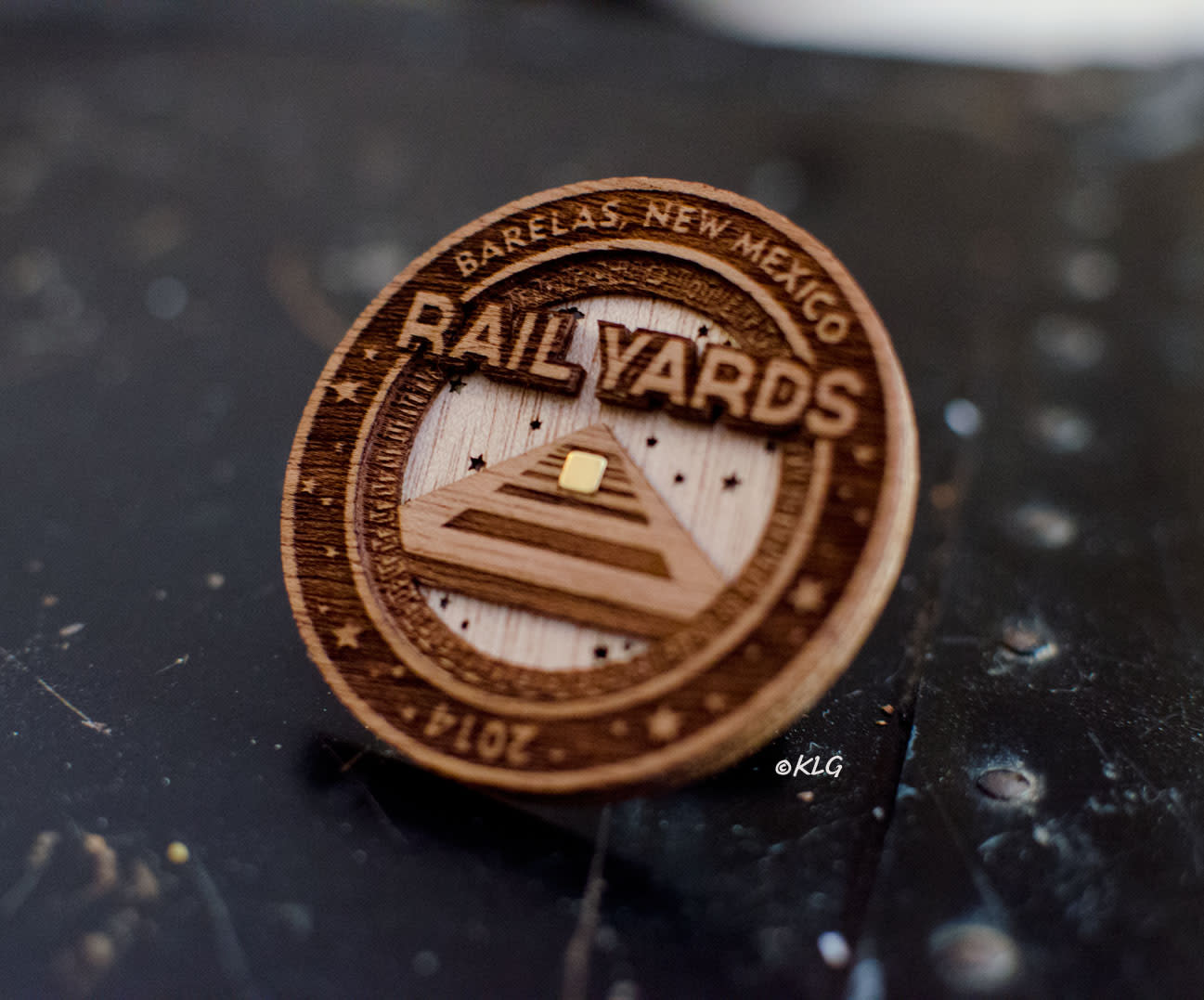 Rail Yards Market Token in Albuquerque