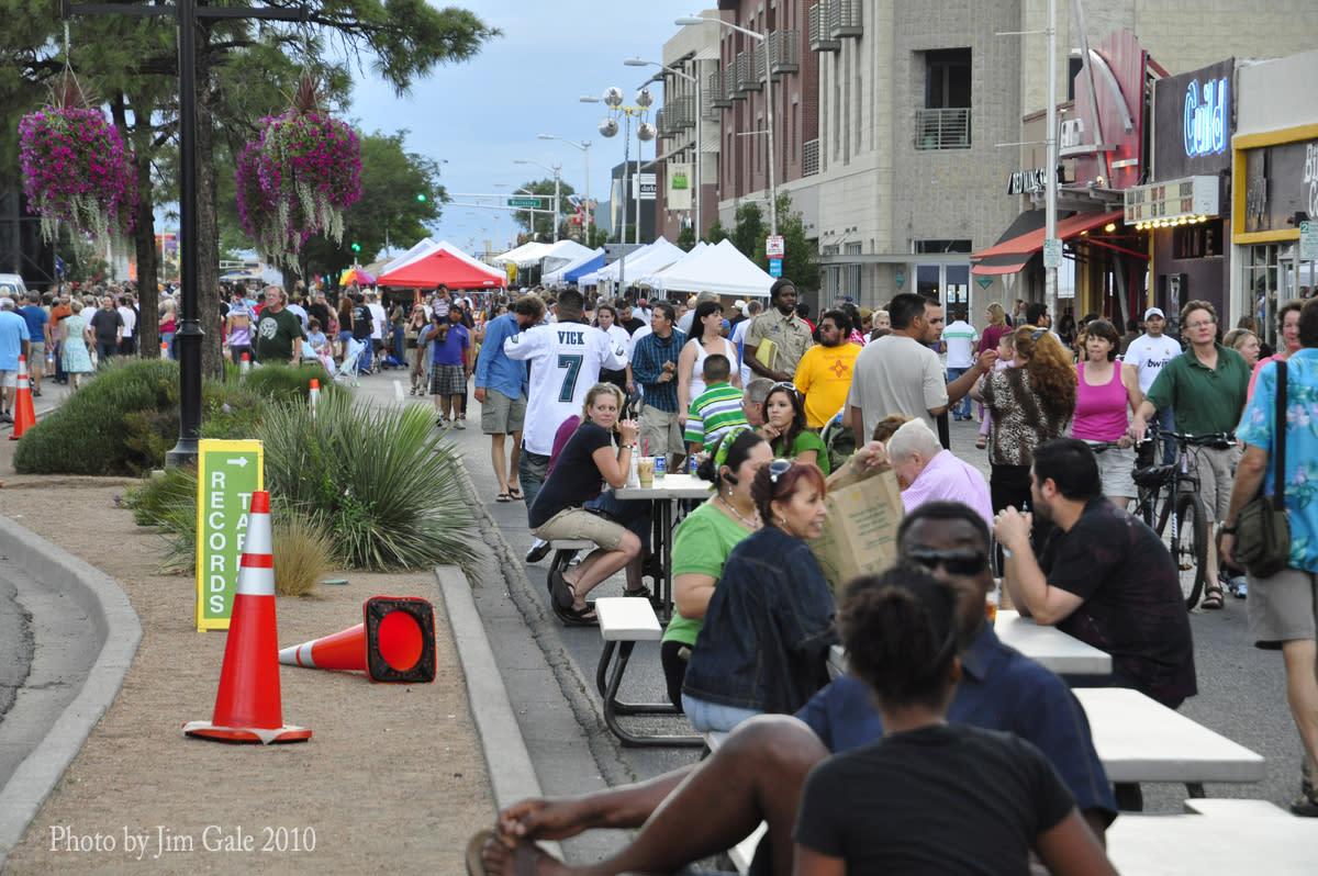Route 66 Summer Fest in Nob Hill, Albuquerque