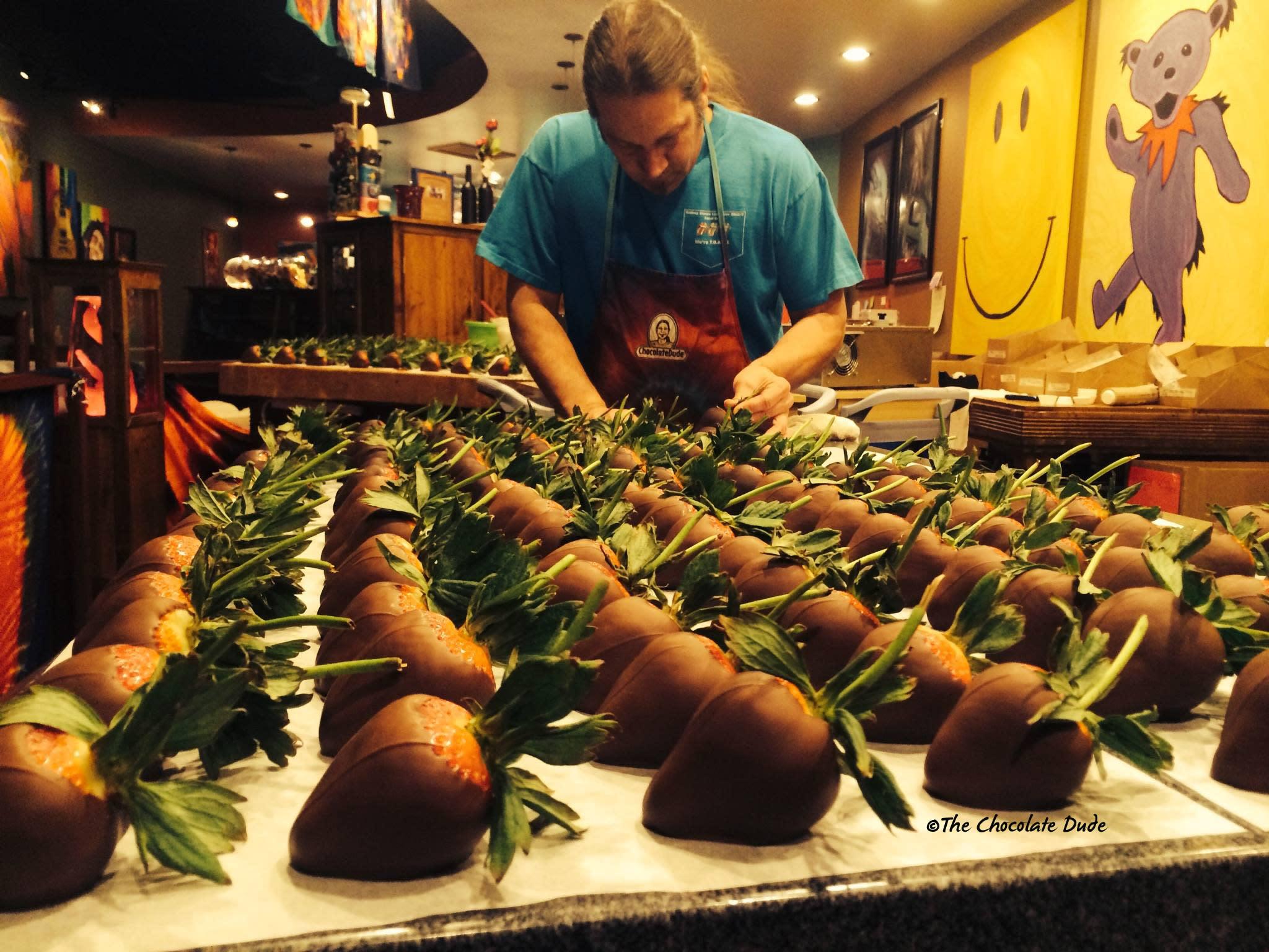 The Chocolate Dude in Nob Hill, Albuquerque