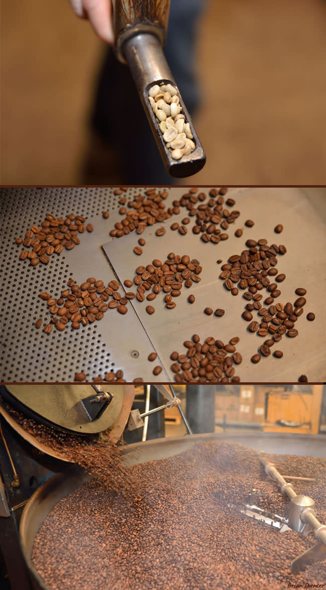 New Mexico Pinon Coffee Process - Brian Spencer
