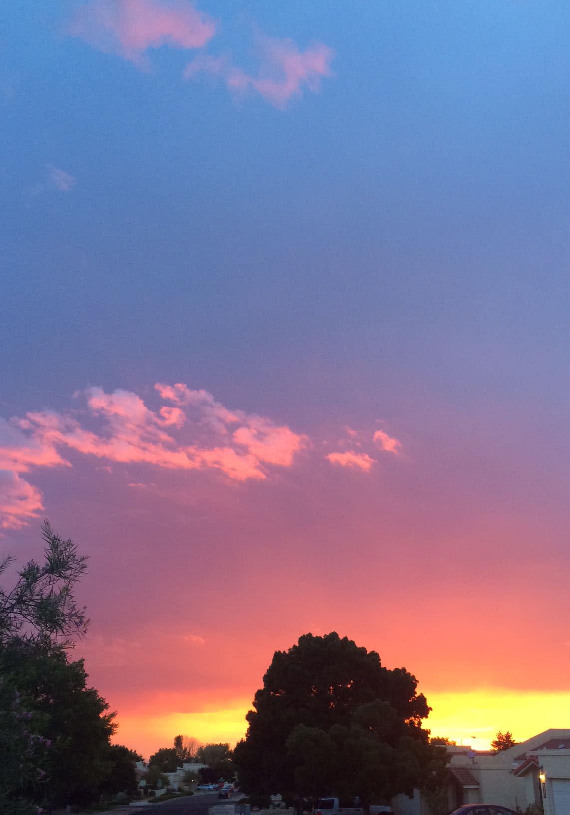 Vibrant Albuquerque Sunset