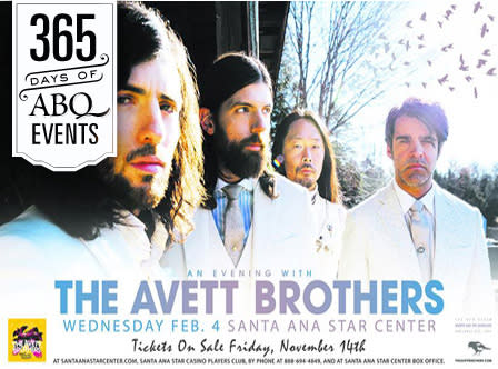 Concert: The Avett Brothers - VisitAlbuquerque.org