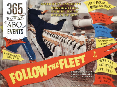Movie Musicals at the KiMo: Follow the Fleet - VisitAlbuquerque.org