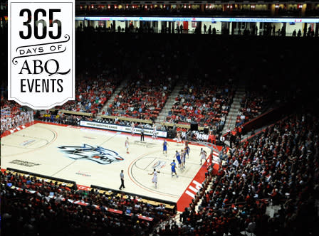 UNM Men's Basketball vs San Jose State - VisitAlbuquerque.org