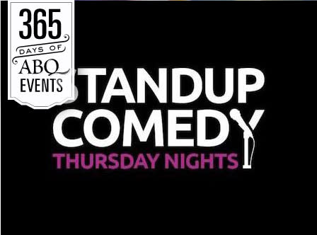Stand-up Comedy Thursday at The Stage - VisitAlbuquerque.org