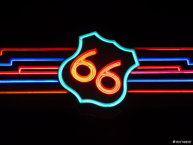 Route-66-Neon-Sign