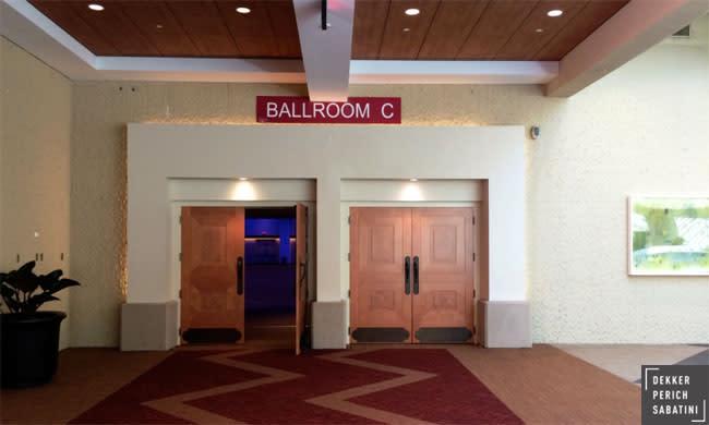 ACC Renovation - Ballroom Doors ©dekker/perich/sabatini